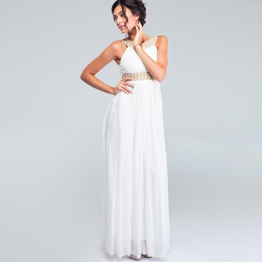 Sunshine Sommerkleid, weiß (Restposten) Größe M